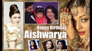 Happy Birthday Aishwarya Rai Bachchan || Indian Actress and Miss World 1994