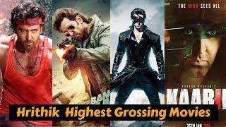 10 Hrithik Roshan Highest Grossing Movies List with Box Office Collection