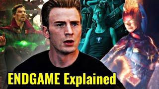 Avengers Endgame Title Explained In HINDI | Doctor Strange's Endgame Plan Explained In HINDI