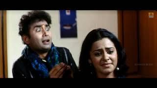 Sharan in Bedroom With Girl Friend | Comedy Scene | Manasina Maathu Kannada Movie | Ajay Rao,Sharan