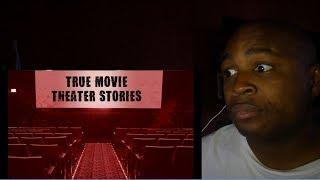 3 Creepy Movie Theater Horror Stories + I Tell My Own REAL LIFE Creepy Movie Theater Horror Story