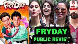 FryDAY Comedy Film Public Review- Govinda -Varun, First Day First Show | SPN9News