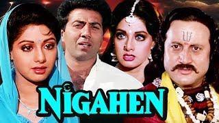 Nigahen Full Movie   Sridevi Hindi Movie   Sunny Deol Bollywood Movie