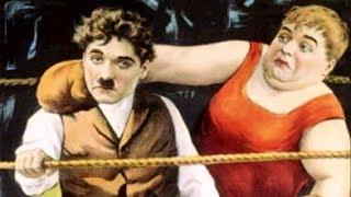 Charlie Chaplin & Roscoe Arbuckle (Fatty) - The knockout (1914) Full Film HD