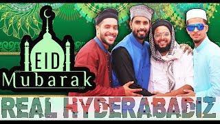 Real Hyderabadi #33 | Eid Mubarak | Hyderabadi Comedy | DJ Adnan Hyd | Acram MCB