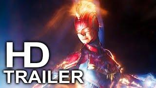 CAPTAIN MARVEL Trailer #2 NEW (2019) Superhero Movie HD