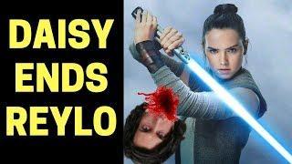 DAISY RIDLEY SHUTS DOWN SJW REYLO FANTASY (RANT)