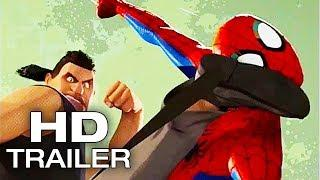 SPIDER-MAN: INTO THE SPIDER-VERSE Sneak Peek Trailer NEW (2018) Animated Superhero Movie HD