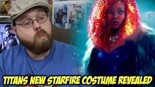 Titans New Starfire Costume Revealed!!!