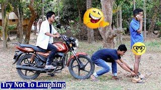 New Funny Video 2019 l Bangla Comedy Videos l Try Not To Laugh  Episode 10  Sujan Fun Media