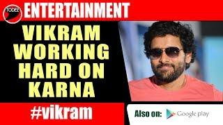 Vikram preparing hard for The Historical Mahavir Karna | RS Vimal