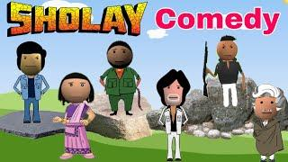 Sholay Comedy - Make Joke Of | MJO | JOK | Funny Video By Talking Tom Fun