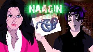 NAAGIN | Horror Story Animated | Hindi Kahani Cartoon | TAF