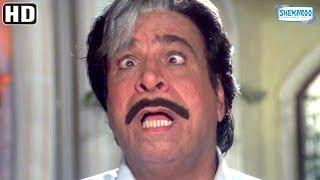 Funniest Movie scenes - Super Hit 90's comedy movie Dulhe Raja - Govinda, Johnny Lever, Kader Khan