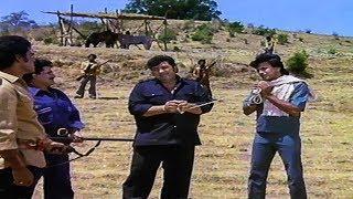 Mithun and Amjad Khan Comedy Scene   Maa Kasam Bollywood Hindi Movie