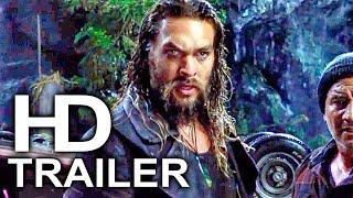 AQUAMAN Trailer #2 International NEW (2018) Superhero Movie HD