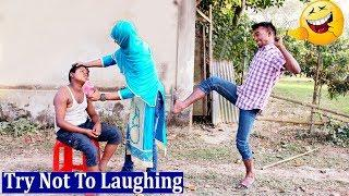 New Funny Video 2019 l Bangla Comedy Videos l Try Not To Laugh  Episode 12  Sujan Fun Media