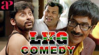 LKG Tamil Movie Comedy Scenes | RJ Balaji | Mayilsamy | Manobala | Priya Anand
