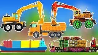 Good Vs Evil Ships | Scary Sea Vehicles | Monster Truck Cartoon for Kids | Tom Tow Truck Fire Truck
