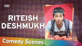 Riteish Deshmukh Comedy - Hit Comedy Scenes - रितेश देशमुख हिट्स कॉमेडी - Shemaroo Bollywood Comedy