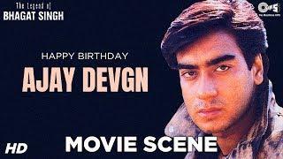 Ajay Devgn, Raj Babbar & Farida Jalal Movie Scene - The Legend Of Bhagat Singh   Emotional Scene