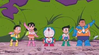 """Part-6 Doraemon the Movie """"Nobita Aur Antriksh Daku"""" in Hindi full movie."""
