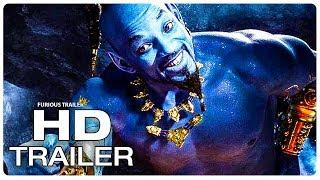 ALADDIN Trailer 2 Extended (NEW 2019) Will Smith Live-Action Disney Movie HD