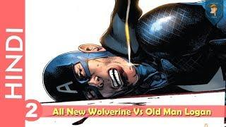 """""""New Wolverine Vs Old-Man LOGAN""""--Part 02!! Complete Story !!/ Marvel Comics in HINDI"""