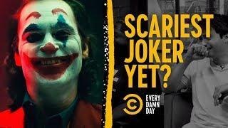 Joaquin Phoenix's Joker: Somehow Scary Already