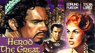 Herod The Great (1959) | Historical Drama Film | Edmund Purdom, Sylvia Lopez