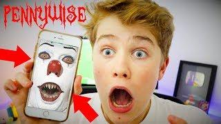 OMG! PENNYWISE CLOWN CALLED ME (IT MOVIE CLOWN) *SCARY* ????