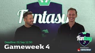 FanTV Fantasy S02: Gameweek 4