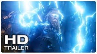 AVENGERS 4 ENDGAME Thor Vs Thanos Trailer (NEW 2019) Marvel Superhero Movie HD