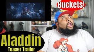 Aladdin | Teaser Trailer Reaction
