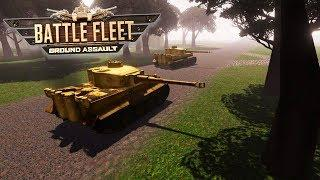 Historical 1944 Invasion of Normandy Beach - US Army | Battle Fleet Ground Assault Gameplay