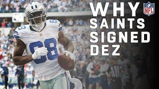 Why Did the Saints Sign Dez Bryant? | NFL News