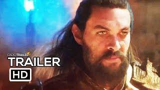 AQUAMAN Trailer #2 NEW (2018) Jason Momoa, Amber Heard DC Superhero Movie HD