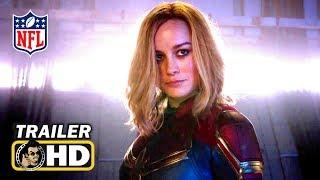 CAPTAIN MARVEL Super Bowl TV Spot Trailer (2019) Marvel Superhero Movie HD