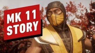 Mortal Kombat 11 Full Movie All Cutscenes