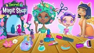 Beauty Salon for Magical Creatures ???? Secret Magic Shop - Fun Fantasy World for Kids | TutoTOONS