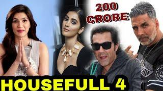 "Akshay Kumar Starrer Upcoming Movie ""HouseFull 4"" Becomes The Highest Budget Comedy Movie"