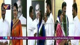 వైసీపీలో చేరిన హేమ, యాంకర్ శ్యామల, జీవిత రాజశేఖర్ || Telugu Film Stars Joining In YSRCP