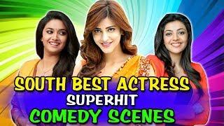 South Best Actress Superhit Comedy Scenes | South Indian Hindi Dubbed Best Comedy Scenes