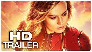 CAPTAIN MARVEL Trailer 3 Extended (NEW 2019) Brie Larson Superhero Movie HD