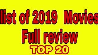 2019 movies Bollywood List by Bollywood news