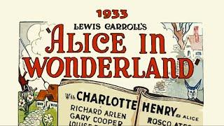 Alice in Wonderland | 1933 | American Animated, Musical, Fantasy and Adventure Film with audio
