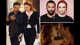 POLDARK Stars Ross and Demelza (Aidan Turner and Eleanor Tomlinson) ♥ Best Moments Gif Collection