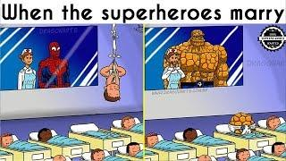 Funny Comics on How the Superhero Children Might Look
