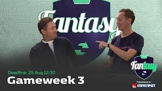 FanTV Fantasy S02: Gameweek 3