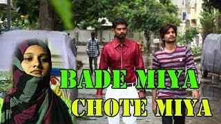BADE MIYA CHOTE MIYA LATEST FUNNY COMEDY || HYDERABADI MOUJ MASTI